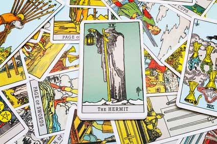 Der Eremit - eine besondere Karte im Tarot