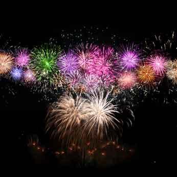 Ins neue Jahr feiern