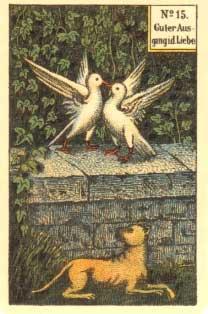 Kartenlegen am Telefon Kipperkarten